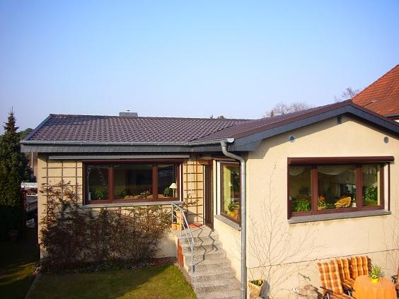 Komplettdach in Leichtbauweise inklusive Entwässerung